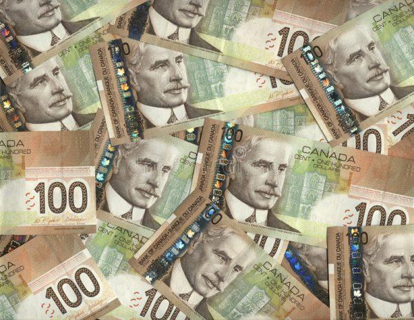 Канадские доллары