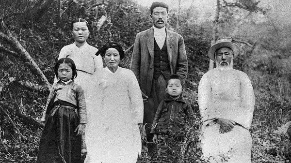 Корейцы — архивное фото