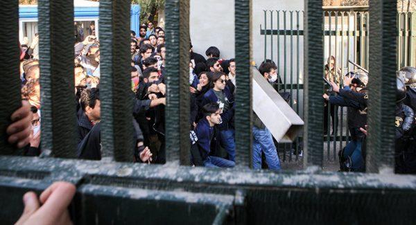 Протесты в Иране в 2017