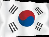 Южная Корея флаг