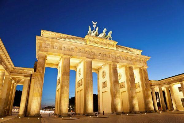 Величественные ворота в Берлине