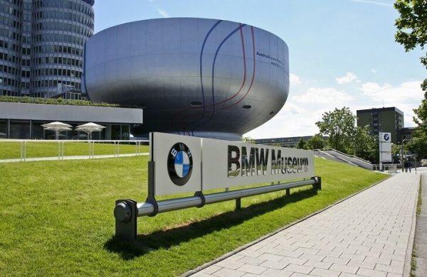 Дорога в музей BMW в Германии