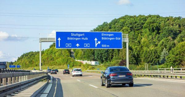 Дороги на просторах Германии