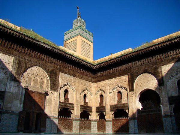 Медресе в Марокко