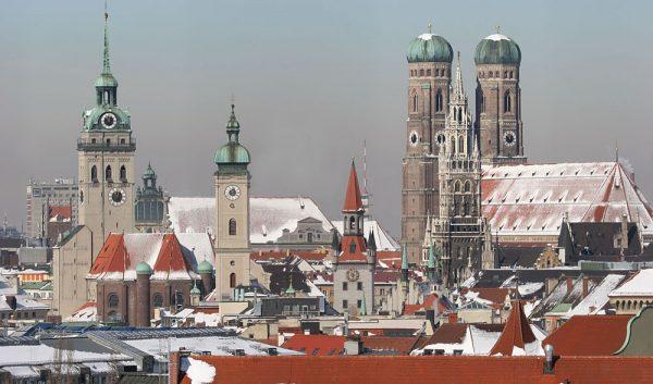 Мюнхен — столица Баварии