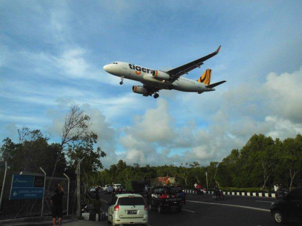 Улетающий самолёт