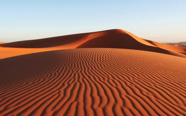 Бархан в Сахаре