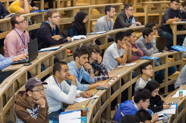 Студенты на лекцииЭлектронное разрешение на въезд в Мексикут