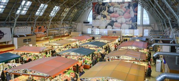 Центральный рынок Риги изнутри
