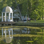 Беседка в парке Лахемаа