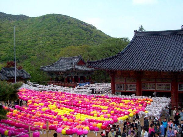 Буддийский монастырь Помоса