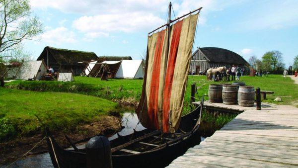 Центр викингов в Рибе