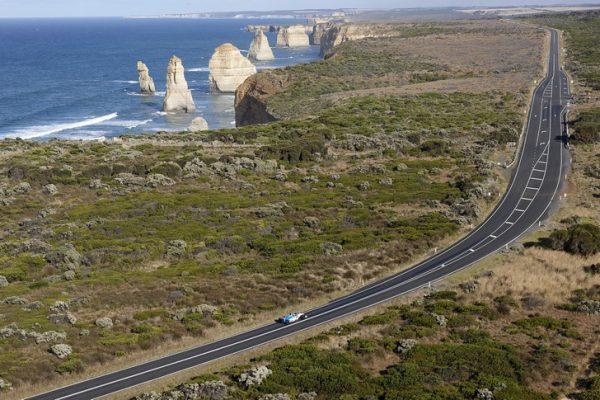 Часть Великой океанской дороги