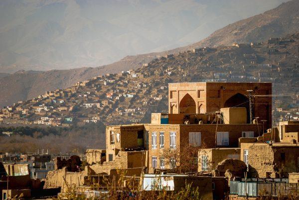 Типичные дома в афганских горах
