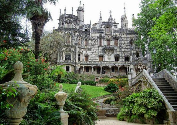 Дворцово-парковая зона Кинта-да-Регалейра