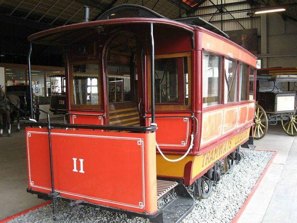 Экспонат Музея общественного транспорта в Льеже