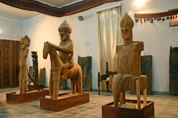 Экспонаты Кабульского музея