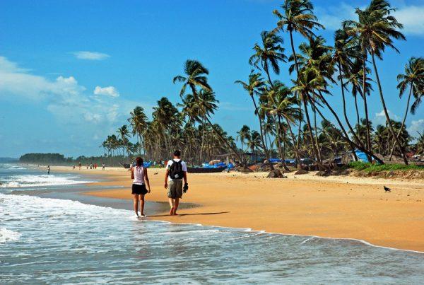 Один из пляжей Гоа