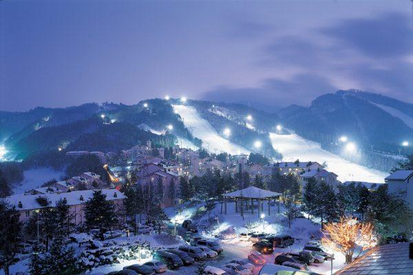 Горнолыжный курорт Южной Кореи