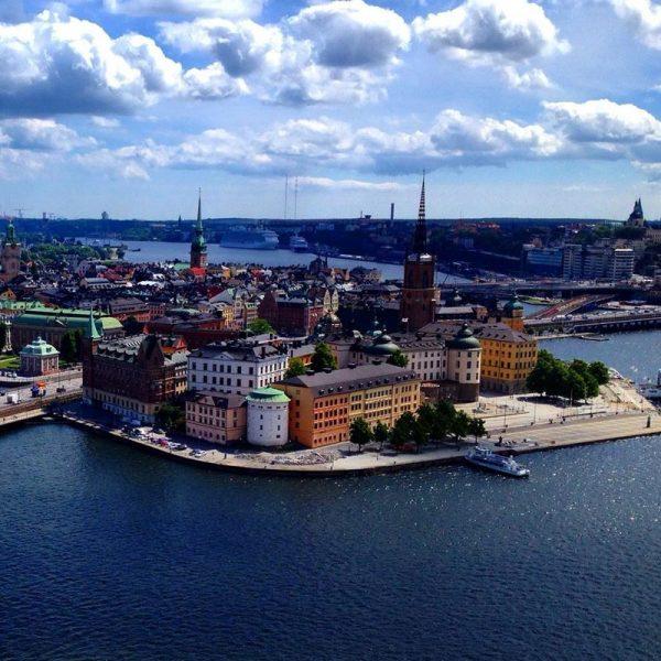 Портовый город в Финляндии