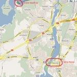 Город Иматра на карте