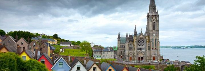 Город Корк в Ирландии