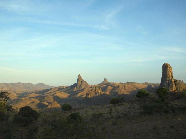 Горы близ Румсики