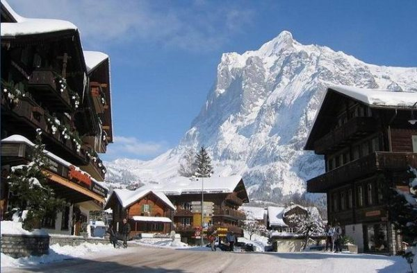 Гриндельвальд в Швейцарии