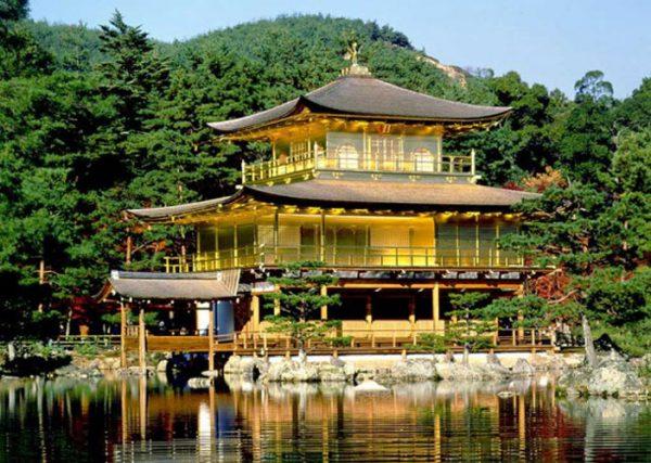 Храм Кинкакудзи, или Золотой павильон