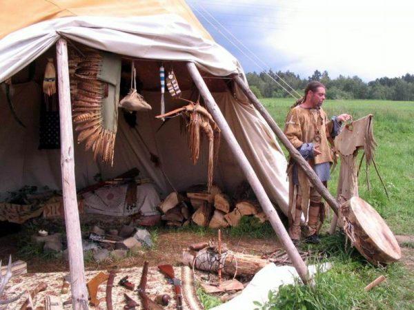 Индейския деревня в Чехии