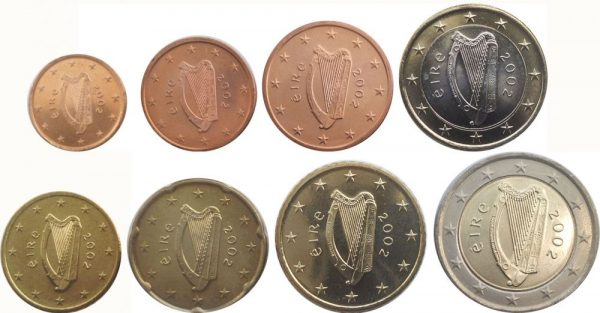 Ирландские монеты евро