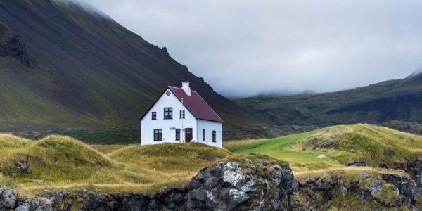 Жилой дом в Исландии