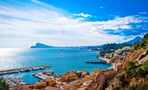 Испанское морское побережье