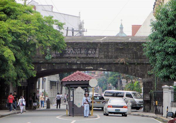 Исторический район Интрамурос в Маниле