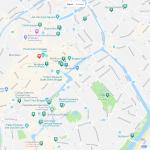 Карта центра Брюгге