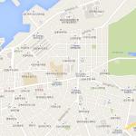 Карта центра Чеджу