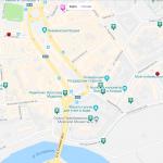 Карта центра города Ярославль