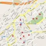 Карта центра Санкт-Галлена