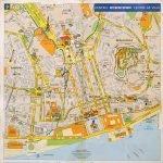 Карта части Лиссабона