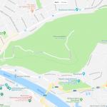Карта достопримечательностей Зальбурга