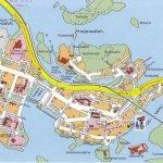 Карта города Савонлинна