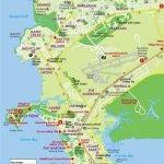 Карта маленького города Дарвин