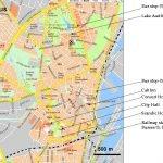 Карта Орхуса