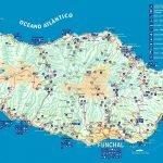 Карта острова Мадейра с основными объектами