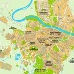 Карта Сарагосы и окрестностей