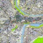 Карта столица Бёрн в Швейцарии