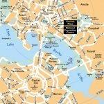 Карта столичного города Канберра