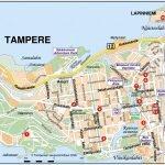 Карта Тампере с достопримечательностями