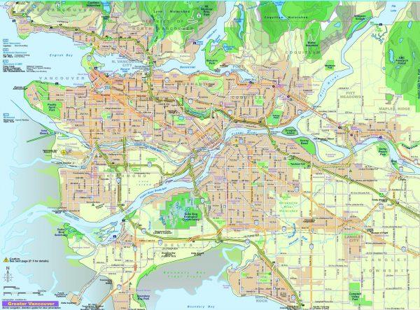 Карта Ванкувера