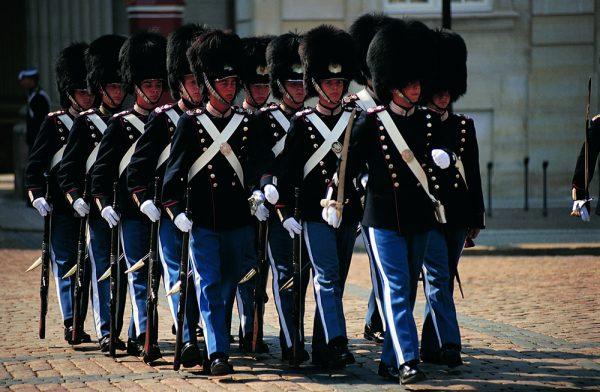 Королевские гвардейцы Дании